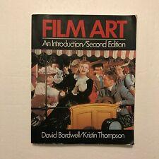 Film Art Second Edition by David Bordwell Paperback 1986 Vg