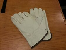 Lot Of12 Pair Truck Drivers Glove Grain Cowhide Large Work Glove 4720L