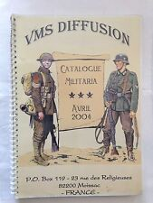 CATALOGUE MILITARIA AVRIL 2004 GUERRE MILITAIRE LIVRE DVD FIGURINE ILLUSTRE