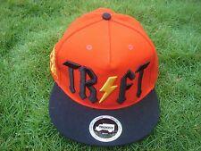 New! Truk-Fit Hat Cap - Orange - Adjustable Size