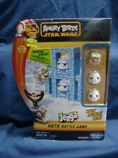 Angry Birds Star Wars Jenga Hoth Battle Game Hasbro 2012 New in Box