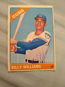 1966 Topps baseball card #580 Billy Williams O/C EX-