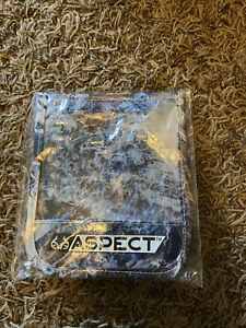 Realtree Aspect CREDENTIAL/BADGE HOLDER Blue Camo Drop SUPER TRIGGER Hunting