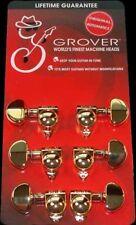 Grover 102G 3X3 Gold Original Tuning Machine Heads 3 X 3 Les Paul Tuners 14:1