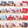 "18x18"" Christmas Sofa Pillow Case 3D Snowman Cushion Cover Decorative Covers HQ"