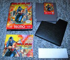 Ninja Gaiden * Nintendo NES * COMPLETE IN BOX * CIB BOXED * CLASSIC GAME *