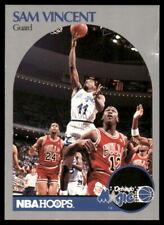 1990-91 NBA Hoops #223 UER Sam Vincent Michael Jordan Error Card ~ Poor/Good+