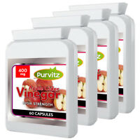 Apple Cider Vinegar Weight Loss 240 Capsules Strong Slimming Aid Health Diet UK