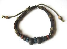 ZYAH Surf Jewelry Multi Hemp+Clay Beads Bracelet/Anklet