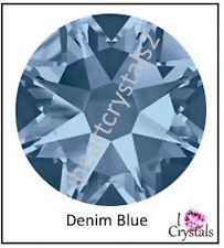 DENIM BLUE Swarovski 4mm 16ss Crystal Flatback Rhinestones 2088 144 pieces