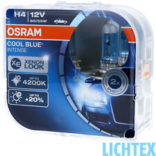 H4 OSRAM Cool Blue Intense - Scheinwerfer Lampe - DUO Pack NEU