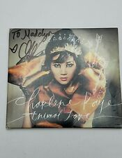 Charlene Kaye Animal Love Cd CD, Oct-2012, Cleopatra AUTOGRAPHED COVER Used Cond