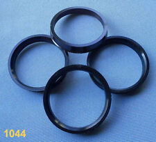 (1044) 4 Stück  Zentrierringe 63,3 / 56,1 für schwarz für Alufelgen