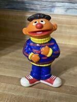 """Vintage Sesame Street Ernie Ceramic, Gorham, Jim Henson, 1976 Japan 6.5"""" Tall"""
