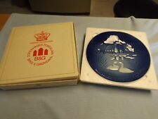 Bing & Grondahl #9074 Collector Plates set of 2