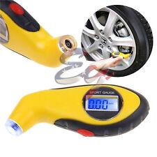 LCD Digital Car Motorcycle Tire Tyre Air Pressure Gauge Tester Tool Auto