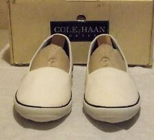 New Cole-Haan Beach Espadrill 7.5 M white canvas (4542)