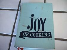 "1971 Vintage Cookbook ""JOY of Cooking"" Bluish Cover Irma S Marion Rombauer"