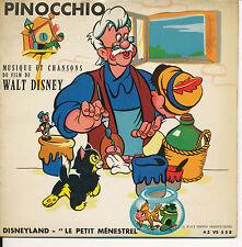BOF PINOCCHIO EP FRANCE WALT DISNEY
