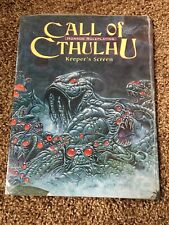 CALL OF CTHULHU KEEPER'S SCREEN By Les Brooks BRAND NEW Fast Shipping NOS Look
