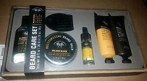 Beard Balm Face Grooming Kit Milagu Men Hair Growth Care Set Moisturize Wash Oil