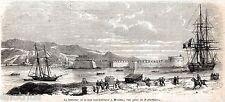MESSINA:Castello del Santissimo Salvatore,Faro.Spedizione dei Mille.Sicilia.1860