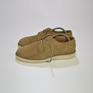 Red Wing Shoes 3104 Postman Oxford Olive Mohawe Shoes Size 44 // US 10 1/2