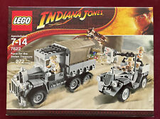 Lego Indiana Jones 7622 — Race For The Stolen Treasure — New And Sealed