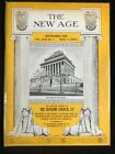 The New Age: The Official Organ of the Supreme Council 33゚, freemason, 1959,sep