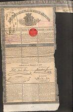 EMPRESTITO DE LA VILLA DE MADRID 1868 (ESPAGNE) (R)