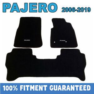 PREMIUM Prestige Carpet Floor Mats for MITSUBISHI PAJERO NS NT NW NX 2006-2020