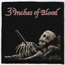 3 INCHES OF BLOOD PATCH / SPEED-THRASH-BLACK-DEATH METAL