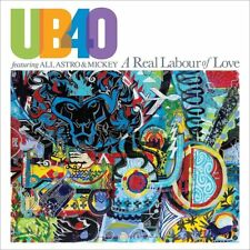 ASTRO & MICKEY UB40 FEAT. ALI - A REAL LABOUR OF LOVE   CD NEU