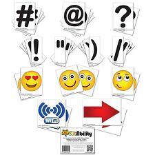 Get Social 4 Inch Letter Set For Sidewalk Signs Emoticons Punctuation Arrows