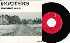 "Hooters-moteur 999/where do the children go, 7"" single 1985 NMINT"