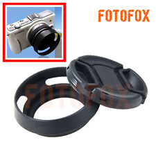 77mm Vented Curved Metal Lens Hood For Canon Nikon Sony Pentax Tamron Camera