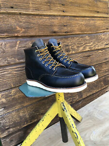 Red Wing #8890 Classic Moc Toe  Leather USA Sz- 9.5 D