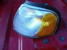 98 99 00 MAZDA B-2500 Left/driver PARKLAMP/TURN SIGNAL FENDER MOUNTED used