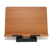 Wiztem Jasmine Book Stand Portable Wooden Reading Holder Desk Bookstand