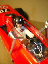 1/18  GRAHAM  HILL  PAINTED  FIGURE  DRIVING  LOTUS  56  INDY  1968  VROOM  TSM