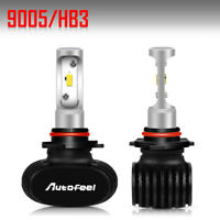 2019 All In One Pair 9005 HB3 LED Headlight Bulb Kit High Beam Fit For Chevrolet