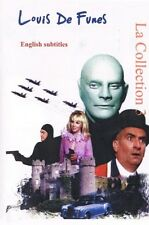 Louis De Funes.  Collection 3. (English subtitles)  Louis De Funès. Franch.