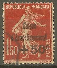 """FRANCE STAMP TIMBRE N°277 """"CAISSE AMORTISSEMENT SEMEUSE 1F50 1931"""" OBLITERE TB"""