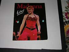 MADONNA in Concert Program IN HER PRIME Ready to Rock