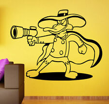Darkwing Duck Wall Decal Walt Disney Vinyl Sticker Comics Home Wall Decor 16dwd