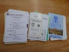 Konvolut ( 520 Gramm) mit Schachturnier-Programme aus Ungarn ca. 1989-1995