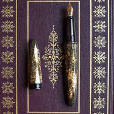 Benu Briolette Collection Gold Ore Fountain Pen