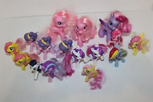 MY LITTLE PONY FIGURES BULK LOT TOTAL 16
