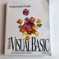 Microsoft Visual Basic Version 3.0 Programmer's Guide 1993