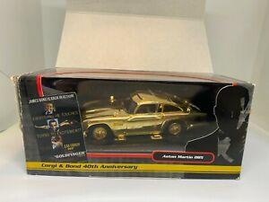 Corgi James Bond 007 1:36 CC04307 Gold Aston Martin DB5 - Goldfinger - NEW